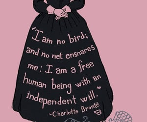 black, charlotte bronte, and empowerment image