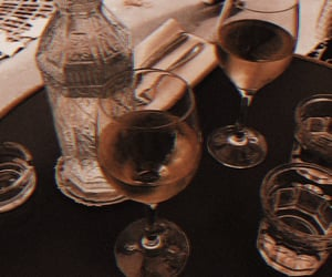 drink, aesthetic, and wine image