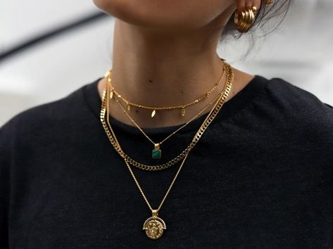 fashion and necklace image