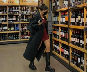 style, wine, and aesthetic image