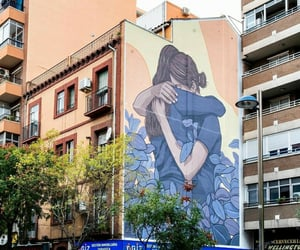 abrazo, arte, and graffiti image