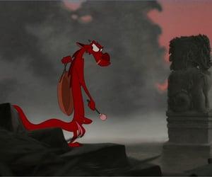 animation, disney, and dragon image