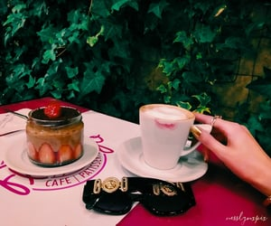 cafe, cake, and nails image