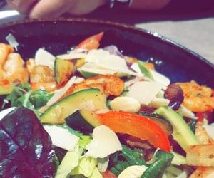 food, healthy, and salade image