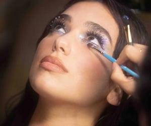 makeup and dua lipa image