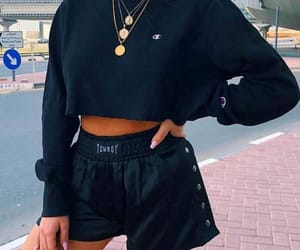 sweatshirt and sporty chic image