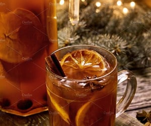 christmas, oranges, and Christmas party image