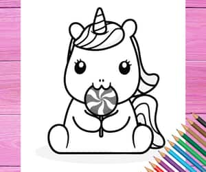 coloring book, etsy, and girls birthday image