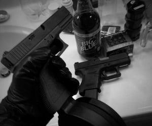 aesthetic and gun image
