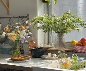 flowers, soft, and cottagecore image