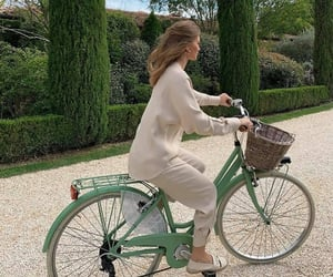 aesthetic, bicycle, and cycling image
