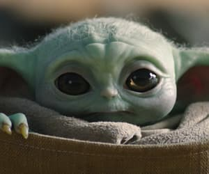 star wars, the child, and baby yoda image