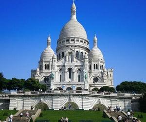 sacre coeur, travel, and sacré-coeur image