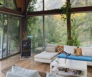 aesthetic, cabin, and cozy image