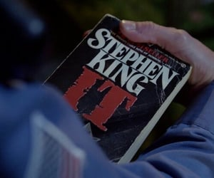 book, it, and Stephen King image