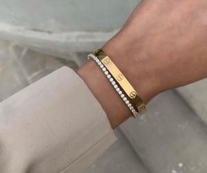 accessories, bracelet, and diamond image