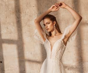 wedding dress, bridal dress, and brautkleid image