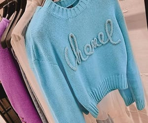 blue, chanel, and fashion image