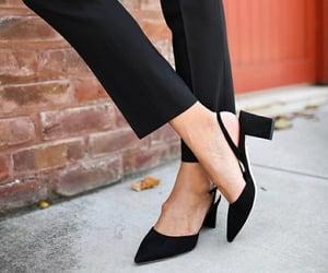 black, effortless, and elegant image