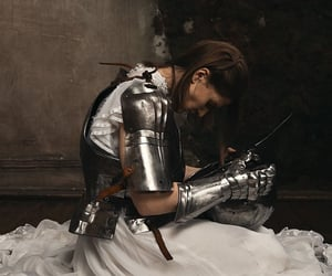 academia, aesthetic, and armour image