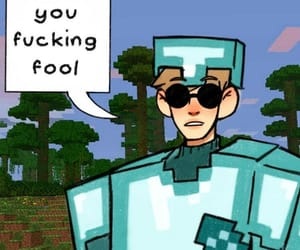 meme, homestuck, and minecraft image