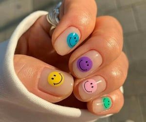 nails, aesthetic, and smile image