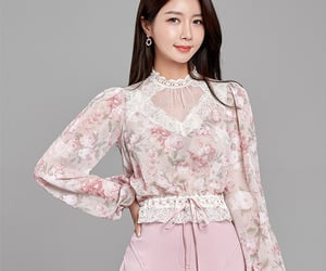 blouse, moda, and top image