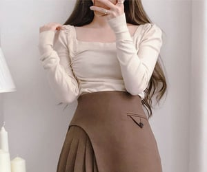 asian fashion, kfashion, and korean fashion image