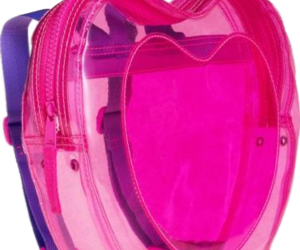 bag, heart, and pink image