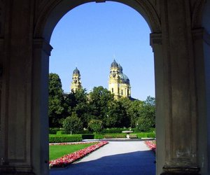 munchen, munich, and hofgarten image