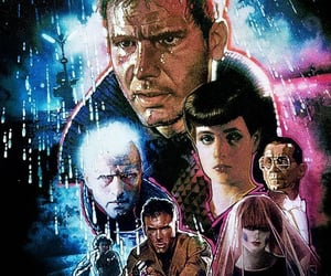 blade runner, Daryl Hannah, and harrison ford image
