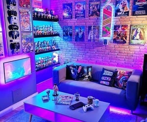 anime, games, and room image