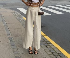 street style, everyday look, and wide leg image