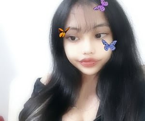angel, asian, and filter image