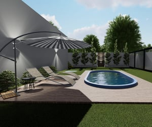 architecture, piscina, and pool image