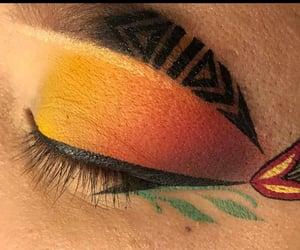beautiful, fake eyelashes, and gorgeous image