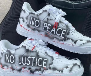 air force, custom, and no justice no peace image