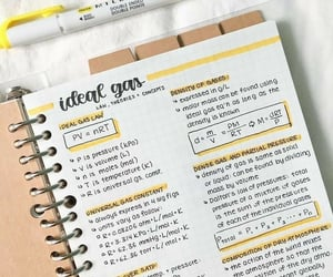 math, notebook, and notes image