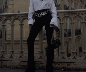chanel, look, and street style image