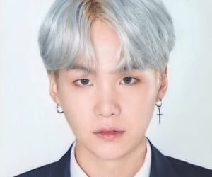 mugshot, yoongi, and bts image