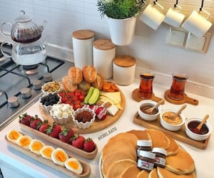 breakfast, food, and FRUiTS image