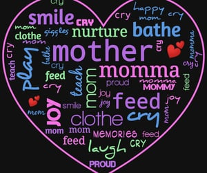 heart, mom, and momma image