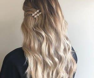 art, blonde, and design image