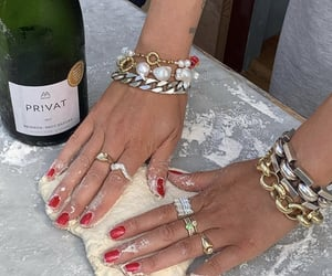 pizza, food, and jewelry image