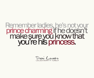 demi lovato, princess, and quote image