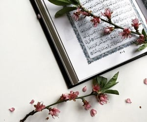 flowers, islam, and quran image