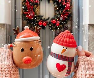christmas, snowman, and holiday image