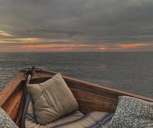 aesthetic, kayak, and soft image