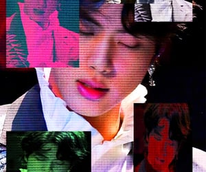 bts, cyber, and jin image