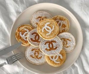 chanel, pancake, and glamour image
